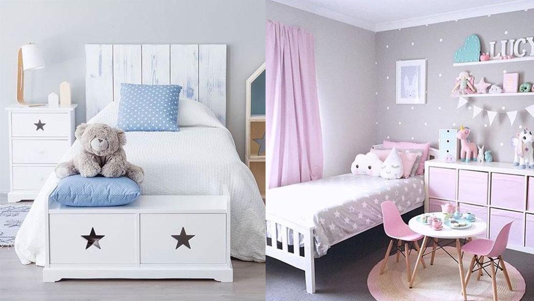 Algunas ideas que encontramos en Pinterest para decorar la habitación de los pequeños de la casa