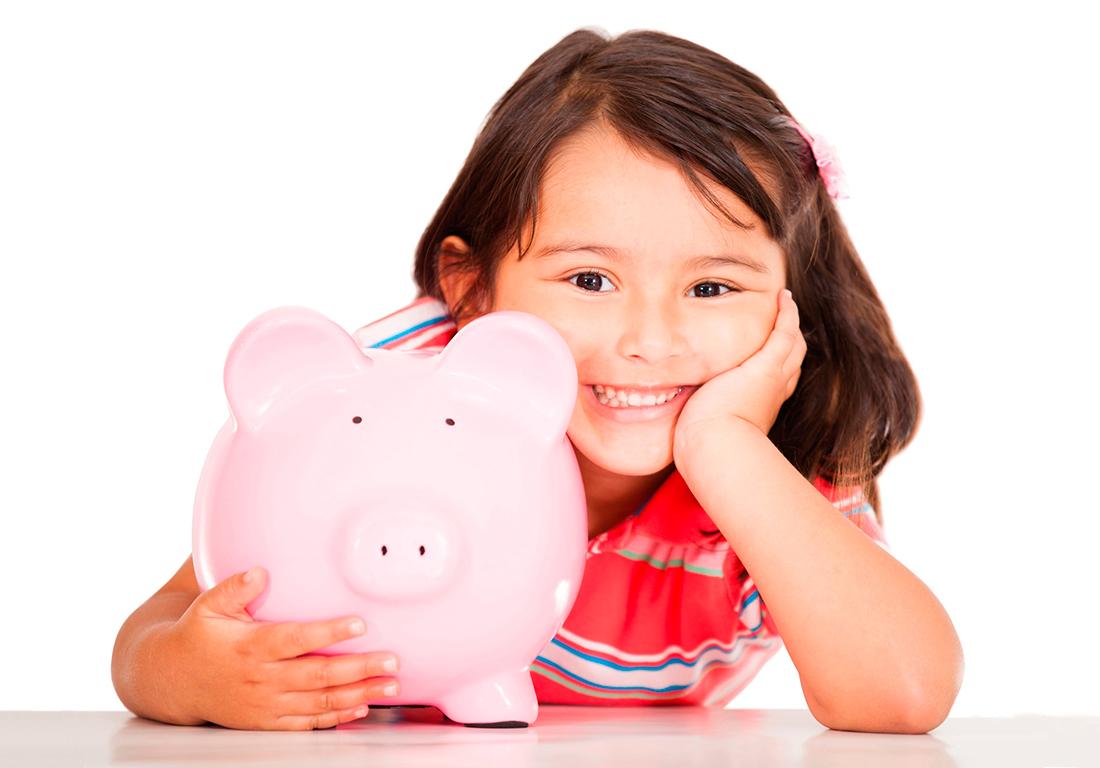 Enséñales a tus hijos la importancia de ahorrar dinero
