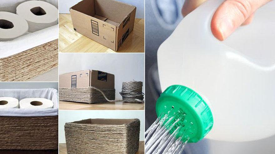 Es increíble todo lo que puedes reciclar