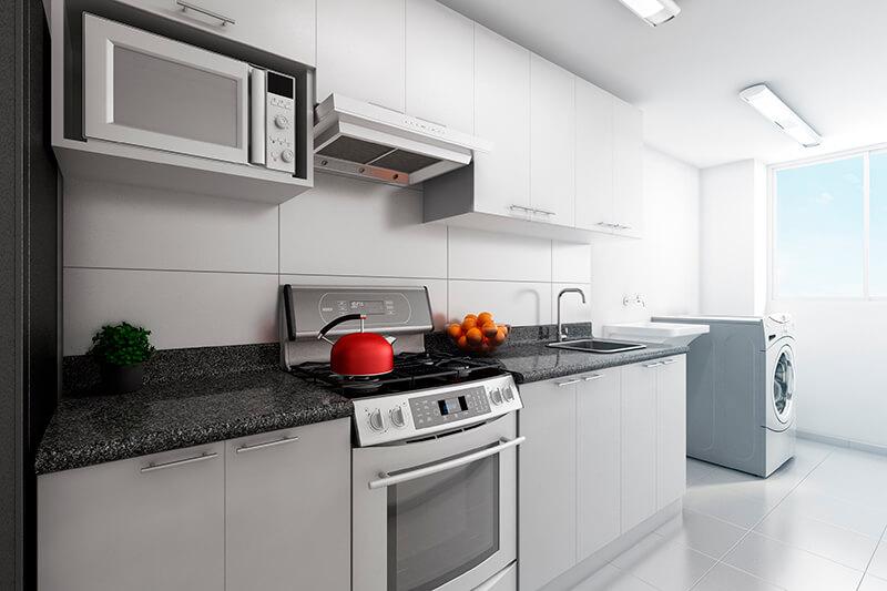 Cocina - Lavandería