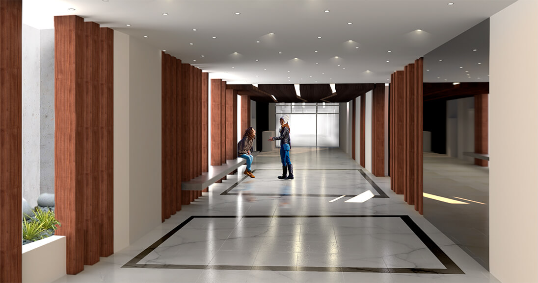 Hall de ingreso